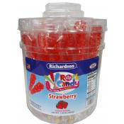 Rock Candy on a Stick Tub Red/ Strawberry Flavor
