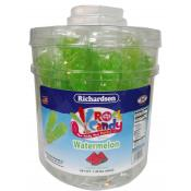 Rock Candy on a Stick Tub Light Green/ Watermelon Flavor