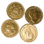 Fort Knox® Small Gold Milk Chocolate Coins