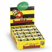 Solid Milk Chocolate Bumble Bees, 0.5oz