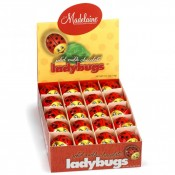 Solid Milk Chocolate Lady Bugs, 0.5oz
