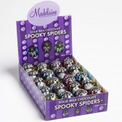 Solid Milk Chocolate Spooky Spiders, 0.5oz