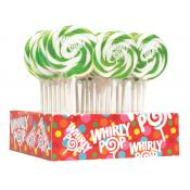 *Special Order* Bright Green/ Apple Whirly Pops