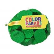 *Special Order* Fort Knox® Green Foiled Milk Chocolate Coins 1.5