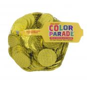 *Special Order* Fort Knox® Sunshine Yellow Foiled Milk Chocolate Coins 1.5