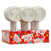 *Special Order* White/ Vanilla Whirly Pops