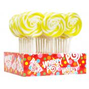 *Special Order* Yellow/ Lemon Whirly Pops