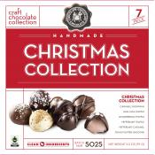 The Christmas Truffle Collection Gift Box, 3.5oz