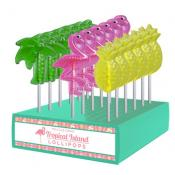 Tropical Assortment Lollipops, 1oz
