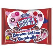 Valentine Dubble Bubble Conversation Gumballs, 10.5oz Bag