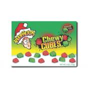 Warheads Christmas Sour Chewy Cubes 4oz