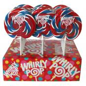 Whirly Pops, USA Red, White & Blue 1.5oz