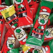 Christmas Foil Wrapped Milk Chocolate Marshmallow Santas