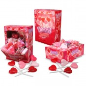 Yummy Hearts Lollipops, 1oz
