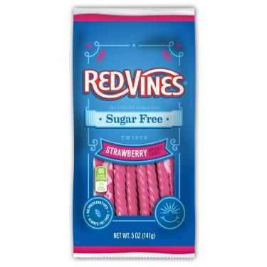 Sugar Free Strawberry Licorice Twist,5oz